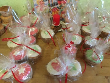 Cupcakes for the RhineBuzz Christmas Party